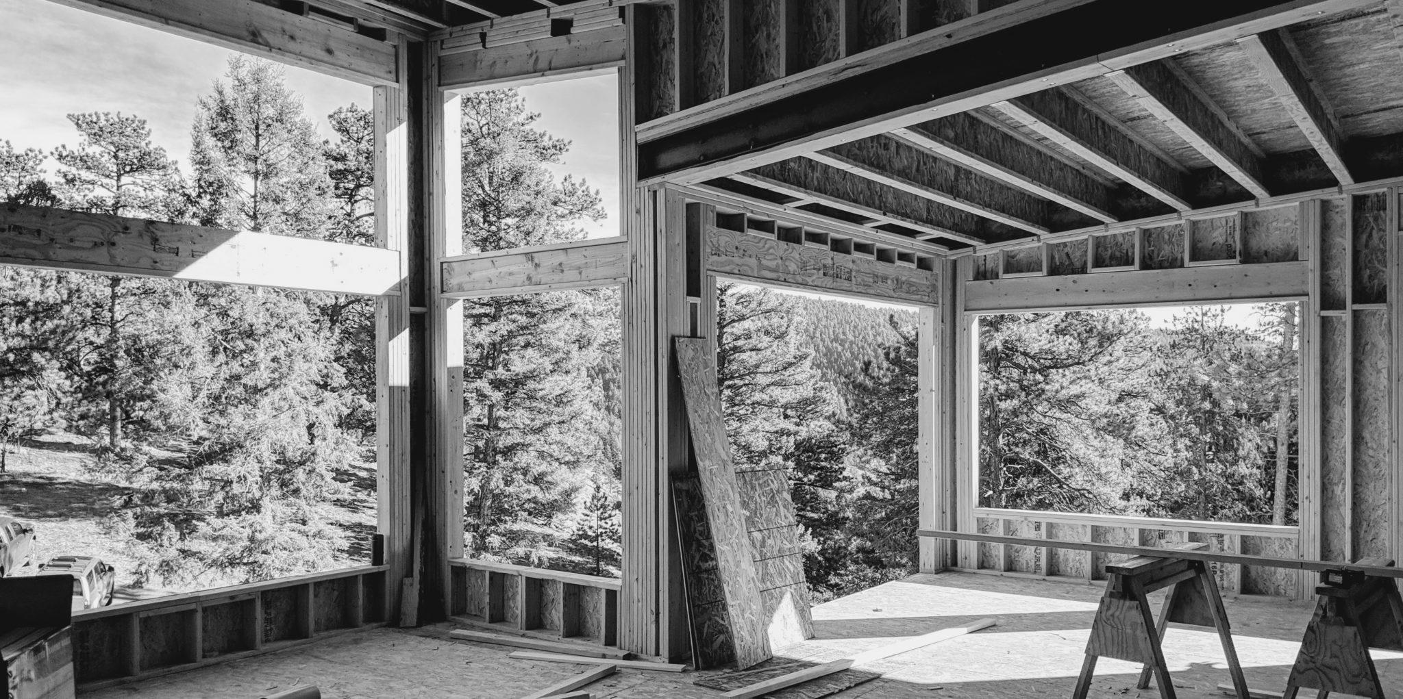 Luxury Custom Home Framing